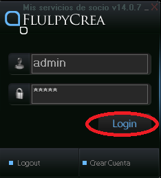FClogin